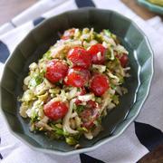 旨味の相乗効果 簡単 作り置き 副菜 野菜のおかず 【セロリとトマトの和ピクルス】