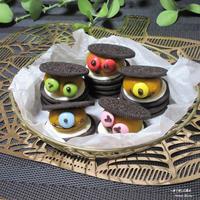 悪戯するなら食べちゃうぞ~!『パンプキン スパイス クッキー サンド』アメリカ。