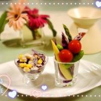 おうちDELI♡キレイ色☆紫キャベツのコールスロー