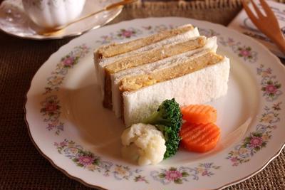 <厚焼き玉子サンド>10/10朝時間.jp『今日のイチオシ朝ごはん』で」紹介していただきます~
