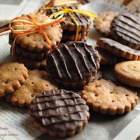 続・チョコ祭り💝全粒粉チョコビスケット🍪レシピ付き