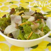 白菜漬物サラダ