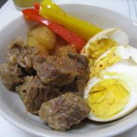 【レシピブログモニター】宮殿焼肉のたれで☆牛すね肉と大根の煮物