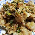 ネギザクポン酢北海道ザンギ!それは鶏肉の唐揚げです!