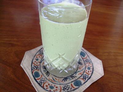 アボガド&豆乳ジュース