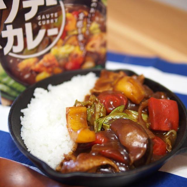 【口コミ&レビュー】ハウス食品「ソテーカレー」!おしゃれ×栄養満点の全く新しいカレー誕生!