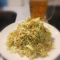 シンプルな胡麻マヨポン酢サラダ