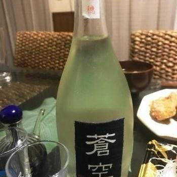 藤岡酒造の「蒼空」