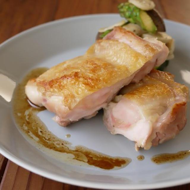 チキンソテー with焦がしバター醤油ソース