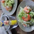 House レモンペーストを使用♪セロリとエビのレモンマリネ by くつろぎの 食卓さん