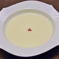 サーロインステーキ と 蕪のスープ