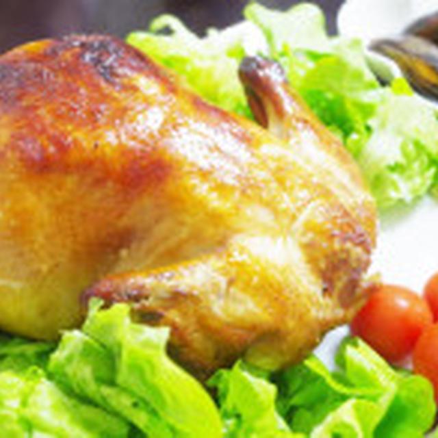 クリスマスには丸鶏のロースト!!
