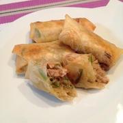 「韓の食菜 チャプチェ」でもっちり春巻【モランボン】