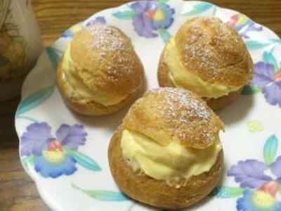 豆乳シュークリーム