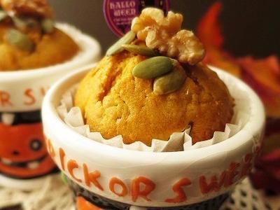 >ハロウィンのおやつ * かぼちゃのマフィン(レシピあり) by nanakoさん