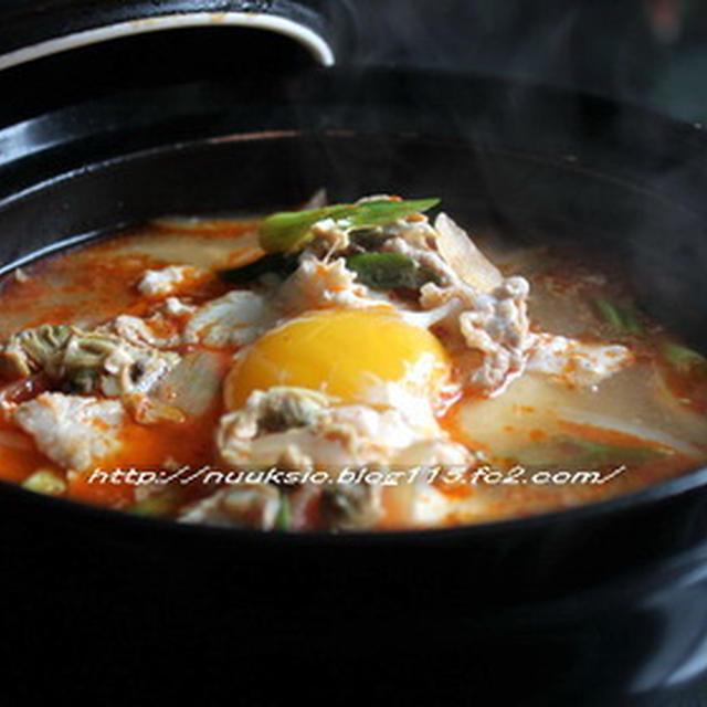 スンドゥブ チゲ(豆腐チゲ)