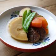 たけのこと野菜の煮物