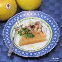 塩味のグレフルゼリー、美味しさに驚いて。『グレープフルーツ海の幸サラダ』