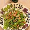 小松菜とカニかまの和え物