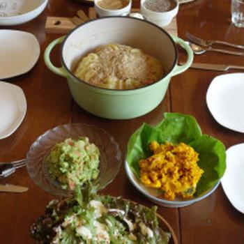 おうちで友達のお誕生日パーティー♪~お野菜たっぷりメニューを揃えました♪~