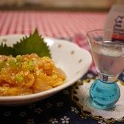 日本酒がススム~♪塩麹利休和え