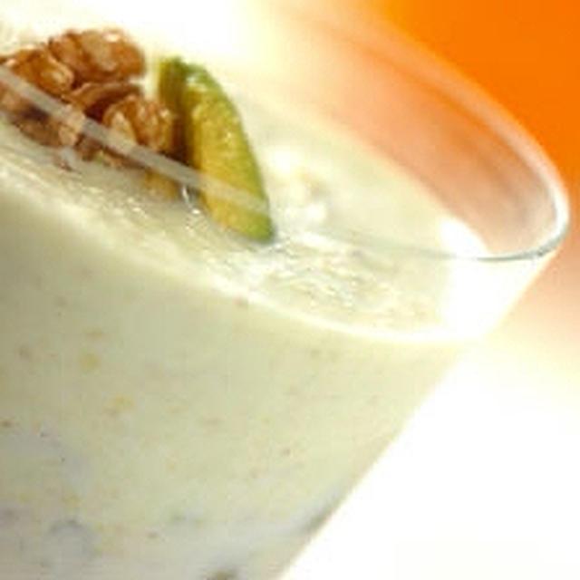 胡桃とアボカドのジュース
