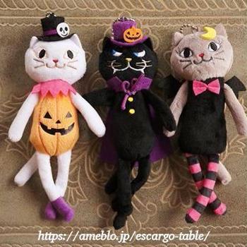早くも「Halloween」気分を楽しむニャン♪