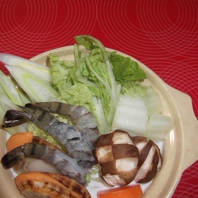 中華クリーム海鮮鍋