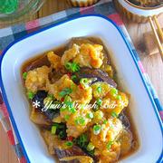 【連載】トロントロン♡冷めてからがなお美味しい♡『カリカリ豚と茄子の揚げつゆ浸し』