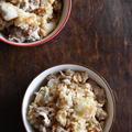上州ネギと豚こま切れ肉でうま塩炊き込みご飯~ぐんまアンバサダー~