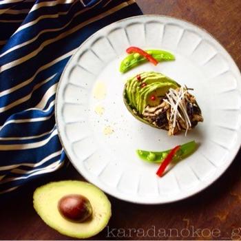 ウルツヤ♪アボガドと鶏胸肉の美肌サラダ