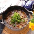 お鍋はそのままテーブルへ!豆腐のきのこあんかけ☆ストウブ「Wa-NABE」 by ひなちゅんさん
