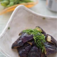 旬の野菜で簡単おつまみ!茄子の焼き浸し