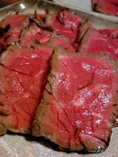 娘ちゃんに血となる牛肉を!『ローストビーフ』