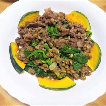【レンズ豆×肉レシピ】スパイス&ハーブが香る♡『レンズ豆煮』のレシピ3種