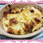 豆腐と長ねぎの味噌マヨグラタン(レシピ付)