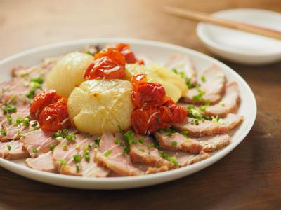 豚もも肉のはちみつ味噌焼き