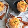 簡単♬市販のパイ生地でスイートポテトのチーズケーキパイ
