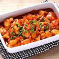 タッカルビ(鶏肉と野菜の韓国風炒め)