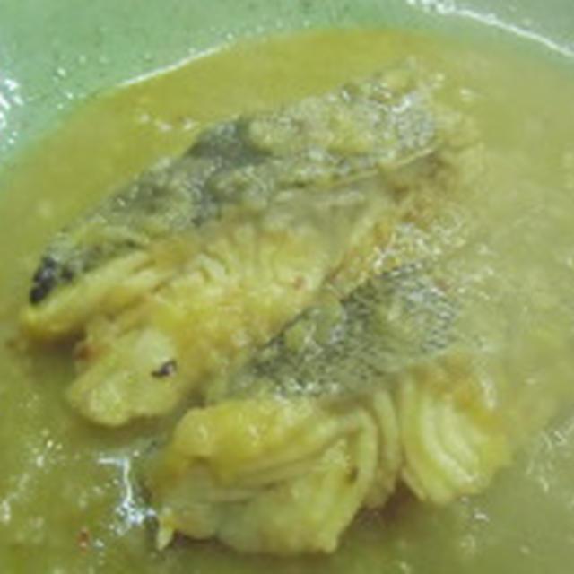 体がポカポカと温まります!!真鱈の煮込み