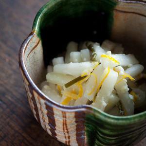 旬の味をお漬物で。常備したくなる「ゆず大根」レシピ