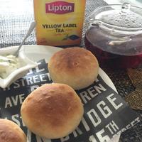 初めてのパン作り『リプトンイエローラベル ひらめき朝食レシピ』