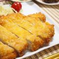 鶏胸肉でジャンボチキンカツ