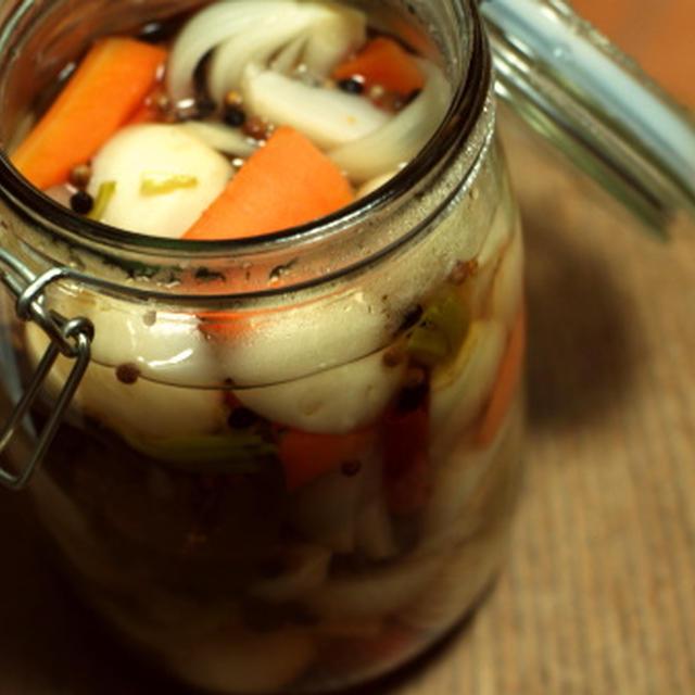 冬野菜たちの、ほっこりピクルス
