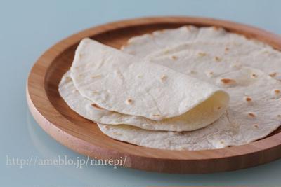 米粉でトルティーヤ パリパリゴルゴンゾーラ
