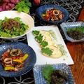 ◆頂いたヤリイカでバジルソテーと筍のグリル♪~ゆるやか糖質制限中♪