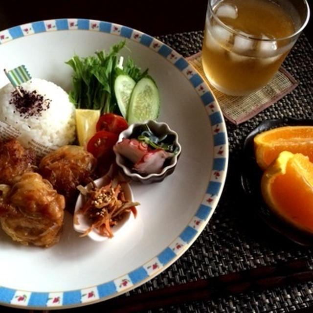 【連載】ワイヤーママ9月号レシピ・豚コマで!玉ねぎ唐揚げ