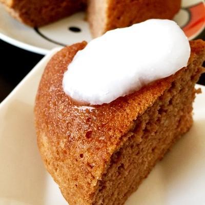 混ぜて焼くだけ、炊飯器でできる簡単ココアケーキ@ベーキングパウダー、湯島天満宮のお祭り