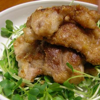 豚肉のゴマ味噌炒め&TDL