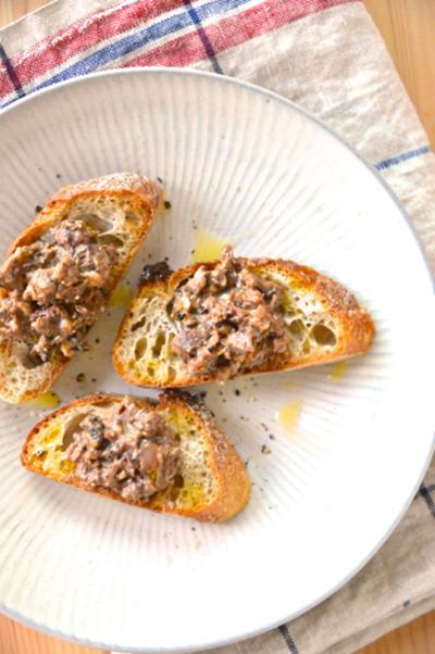 #507 ホタルイカと味噌とクリームチーズのディップ